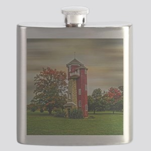 Autumn Water Tower Flask