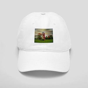 Autumn Water Tower Baseball Cap