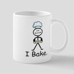 Baking Stick Figure Mug