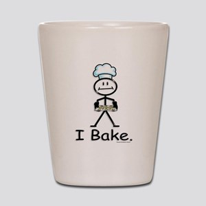 Baking Stick Figure Shot Glass