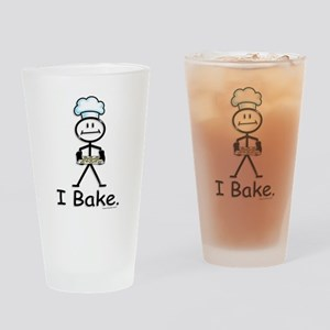 Baking Stick Figure Drinking Glass
