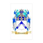 Tompsett Sticker (Rectangle 50 pk)