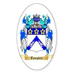 Tompkin Sticker (Oval 50 pk)