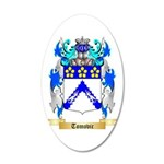 Tomovic 20x12 Oval Wall Decal