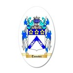 Tomovic 35x21 Oval Wall Decal