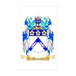 Tommen Sticker (Rectangle 50 pk)