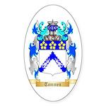 Tommen Sticker (Oval 10 pk)