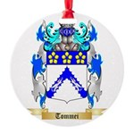 Tommei Round Ornament