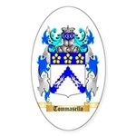 Tommasello Sticker (Oval 50 pk)