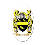 Tomlinson 35x21 Oval Wall Decal