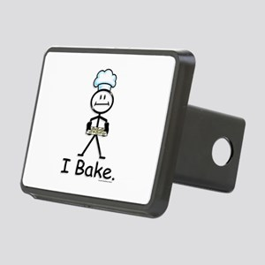 Baking Stick Figure Rectangular Hitch Cover