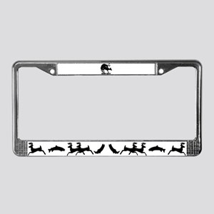 Mule Deer Hump Day License Plate Frame