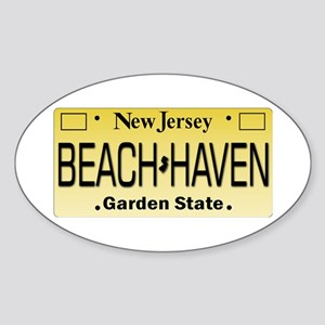 Beach Haven NJ Tag Giftware Sticker