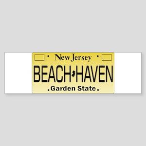 Beach Haven NJ Tag Giftware Bumper Sticker