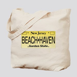 Beach Haven NJ Tag Giftware Tote Bag