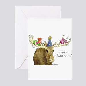 Birthday Moose s Greeting Cards