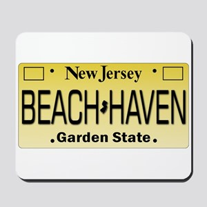 Beach Haven NJ Tag Giftware Mousepad