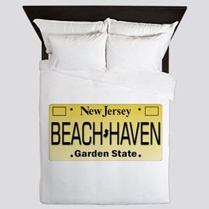 Beach Haven NJ Tag Giftware Queen Duvet