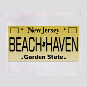 Beach Haven NJ Tag Giftware Throw Blanket