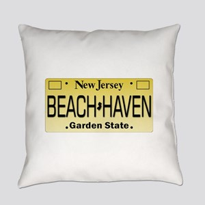 Beach Haven NJ Tag Giftware Everyday Pillow