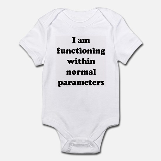 Normal Parameters Infant Bodysuit