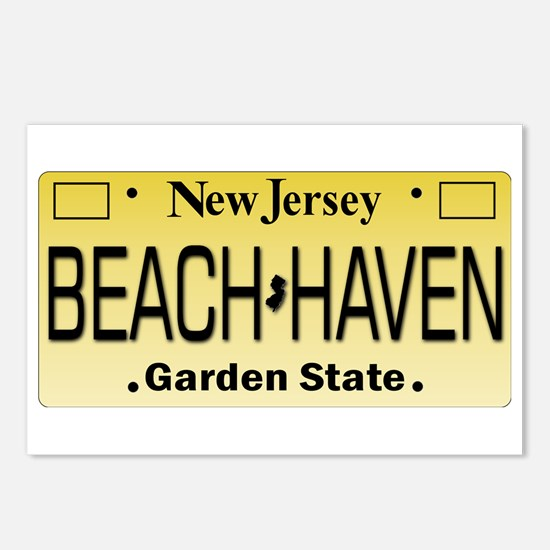 Beach Haven NJ Tag Giftwa Postcards (Package of 8)