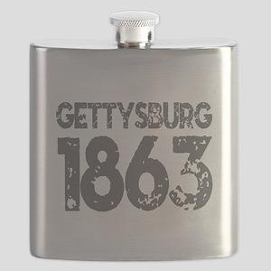 1863 - Gettysburg Flask
