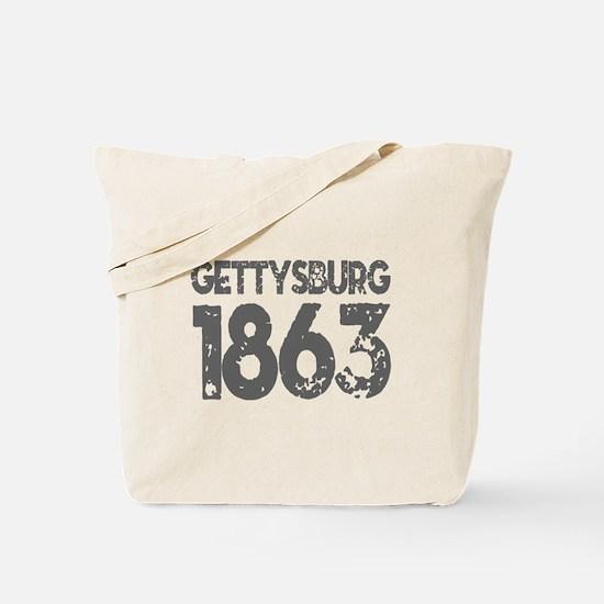 1863 - Gettysburg Tote Bag