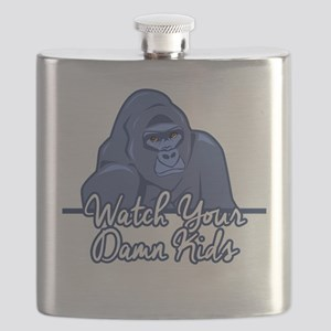 Watch Your Kids Flask