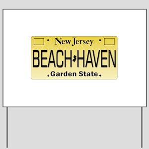 Beach Haven NJ Tag Giftware Yard Sign