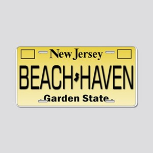 Beach Haven NJ Tag Giftware Aluminum License Plate