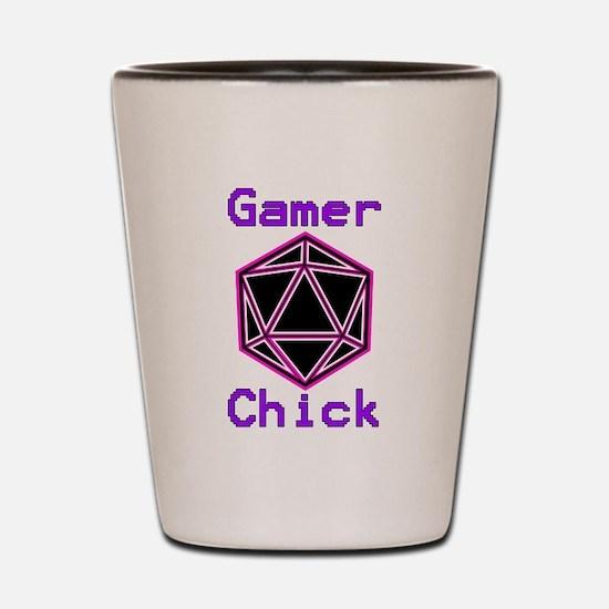 Unique Dragon and dice Shot Glass