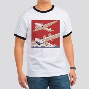 Vintage Sea and Air Ringer T