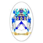 Tomisch Sticker (Oval 50 pk)
