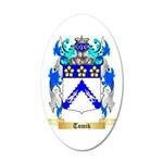 Tomik 35x21 Oval Wall Decal