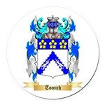 Tomich Round Car Magnet