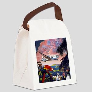 Paradise Flight Canvas Lunch Bag