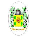 Urrutia Sticker (Oval 50 pk)