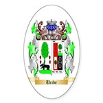 Uribe Sticker (Oval)