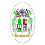 Uribe Sticker (Oval 10 pk)