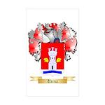 Urena Sticker (Rectangle 50 pk)