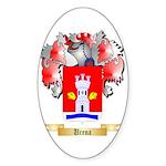 Urena Sticker (Oval)