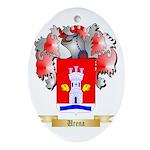 Urena Oval Ornament