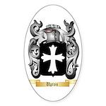 Upton Sticker (Oval 50 pk)