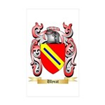 Ulyeat Sticker (Rectangle 50 pk)