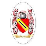 Ulyatt Sticker (Oval 50 pk)