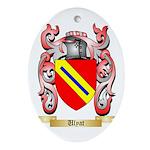 Ulyat Oval Ornament