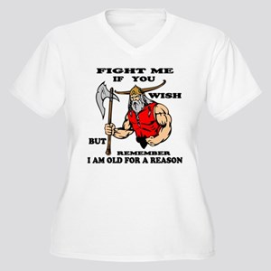 I Am Old For A Re Women's Plus Size V-Neck T-Shirt