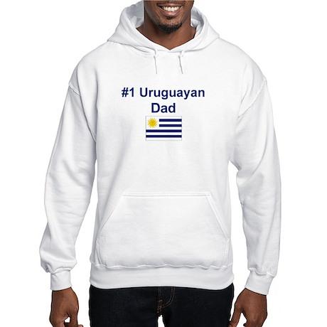 #1 Uruguayan Dad Hooded Sweatshirt