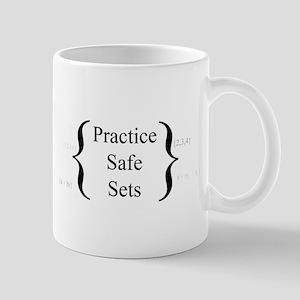 Practice Safe Sets Mugs
